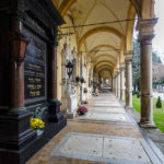 Arkadengang auf dem Mirogoj-Friedhof in Zagreb