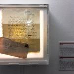 Exponat im Museum of broken relationships in Zagreb