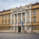 Außenansicht des kroatischen Parlaments in Zagreb
