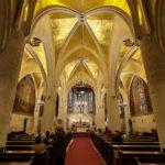 Innenansicht der St.-Markus-Kirche in Zagreb