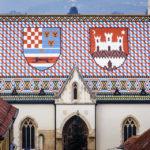 Das wunderschöne Dach der St.-Markus-Kirche in Zagreb