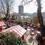 Die Strossmayer-Promenade in Zagreb