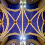 Innenansicht der Kirche Sveti Franjo in Zagreb
