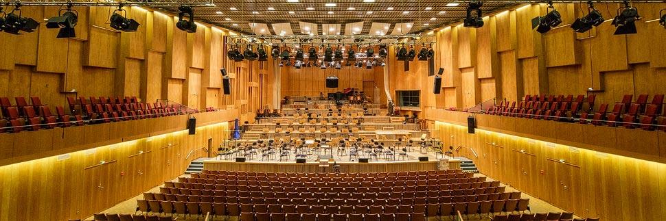 Großer Sendesaal im Haus des Rundfunks in Berlin