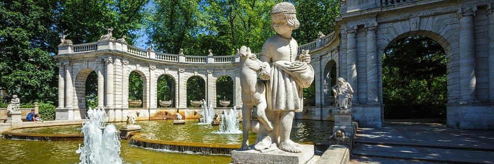 Märchenbrunnen im Volkspark Friedrichshain in Berlin