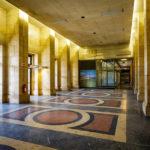 Eingangsbereich am Flughafen Tempelhof in Berlin