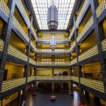 Eingangsbereich im Haus des Rundfunks in Berlin