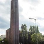 Außenansicht der Kirche am Hohenzollernplatz
