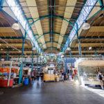 Innenansicht der Markthalle Neun in Berlin