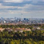 Blick vom Glockenturm auf Berlin
