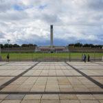 Blick vom Berliner Olympiastadion auf den Glockenturm