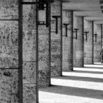 Säulengang außerhalb des Berliner Olympiastadions
