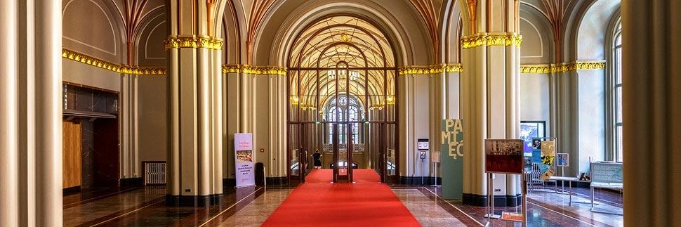Innenansicht des Rotes Rathaus in Berlin