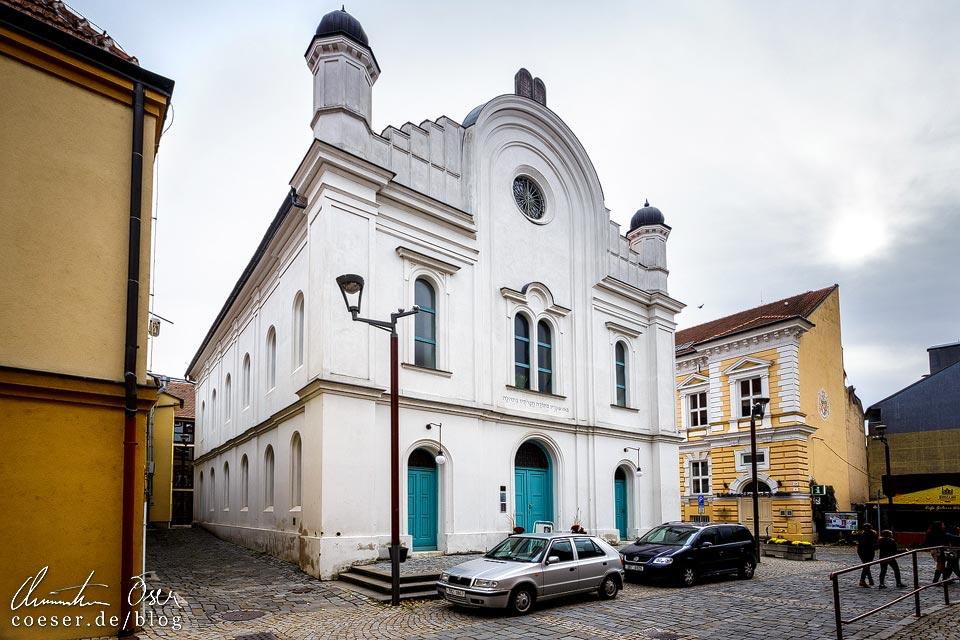 Neue Synagoge in Břeclav (Lundenburg)