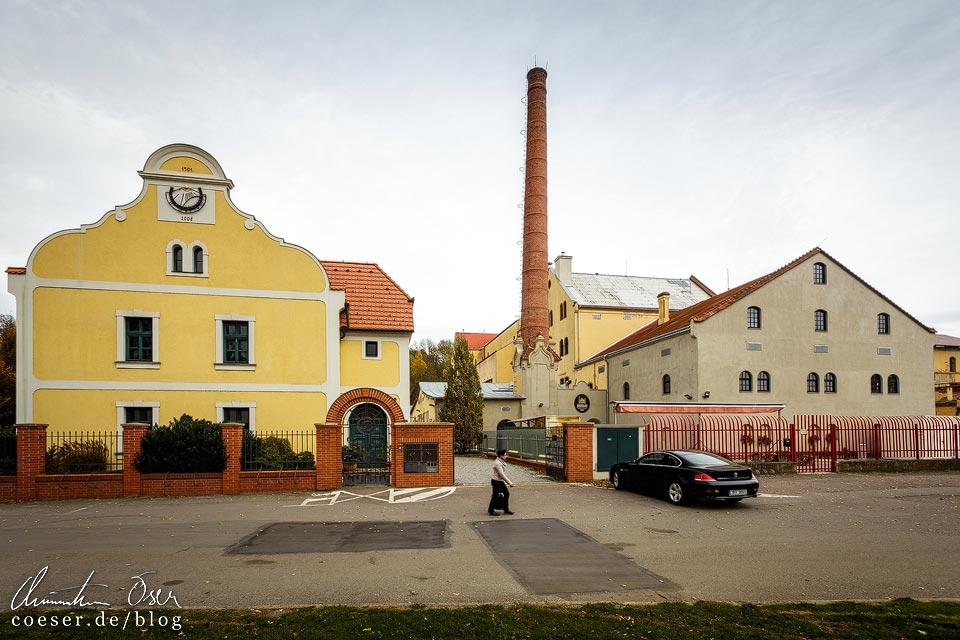 Schlossbrauerei in Břeclav (Lundenburg)