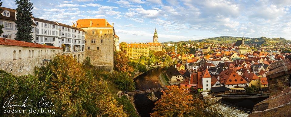 Panorama von Český Krumlov