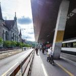 Der Züricher Hauptbahnhof ist nach außen hin offen gestaltet