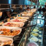 Buffet im Restaurant Hiltl Sihlpost in Zürich