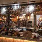 Innenansicht des Restaurant Raclette Factory in Zürich