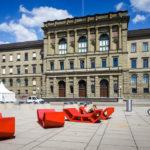 Die Polyterrasse vor der ETH Zürich