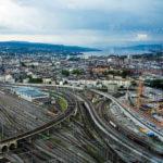 Ausblick vom Prime Tower in Zürich