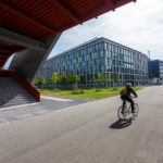 Neue Architektur im ehemaligen Industrieviertel Zürich-West, jetzt Toni-Areal genannt