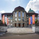 Außenansicht der Universität Zürich