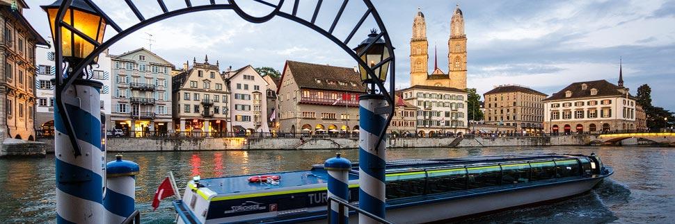 Ablegestelle Storchen der Limmat-Schifffahrt in Zürich
