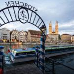 Anlegestelle Storchen der Limmat-Schifffahrt in Zürich