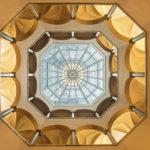 Kuppelkonstruktion im Peterhof in Zürich