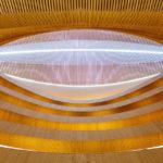 Rechtswissenschaftliche Bibliothek von Architekt Santiago Calatrava in Zürich