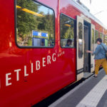 Mit der S10 geht es schnell auf den Uetliberg in Zürich