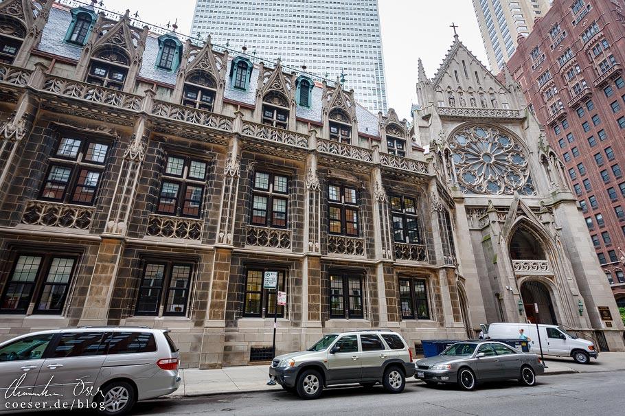 Saint James Chapel in Chicago