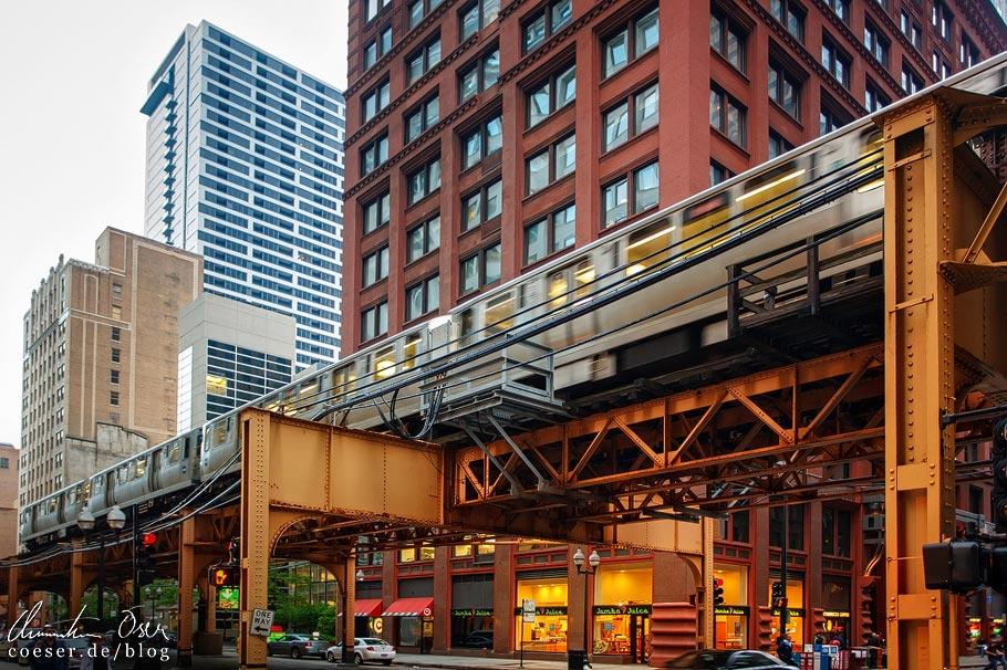 Hochbahn (Chicago Elevated) im Loop