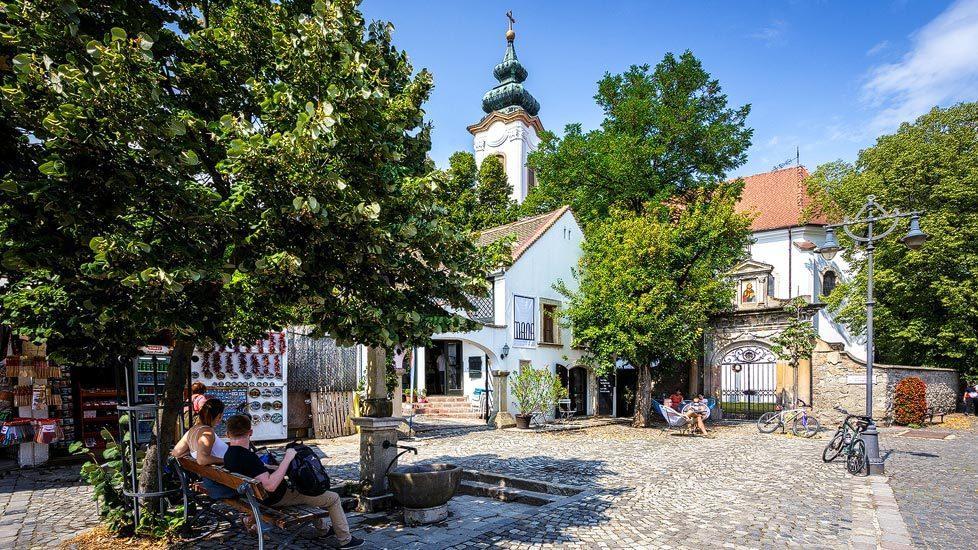 Das Künstlerdorf Szentendre in Ungarn