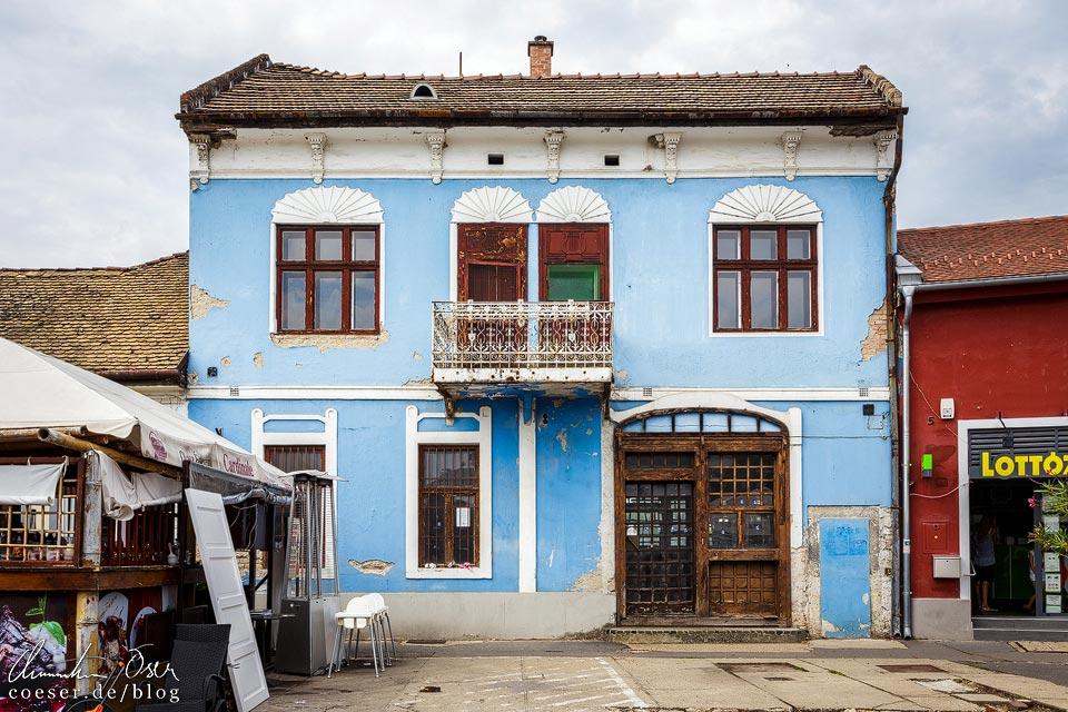 Bunte Häuser im Künstlerdorf Szentendre
