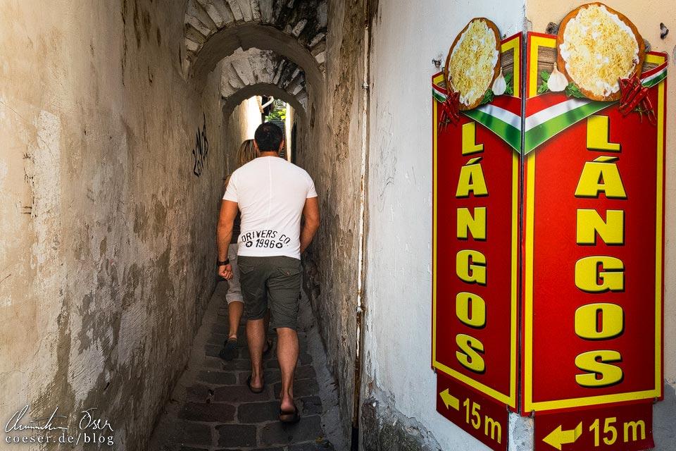 Lángos-Stand Álomlángos im Künstlerdorf Szentendre