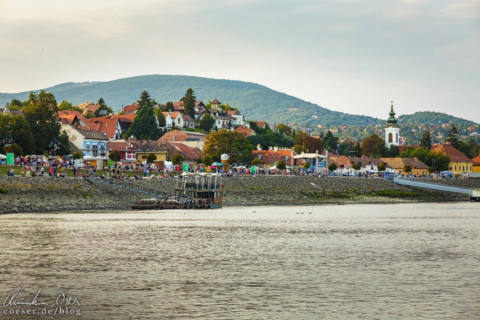 Blick auf das Künstlerdorf Szentendre
