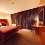 Doppelzimmer im Hotel Pullman Barcelona Skipper