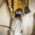 Restaurierungsarbeiten in der Casa Batlló von Antoni Gaudì