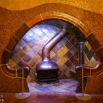 Innenansicht der Casa Batlló von Antoni Gaudì