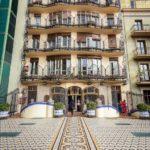 Innenhof der Casa Batlló von Antoni Gaudì