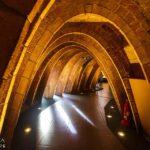 Dachboden in der Casa Milà von Antoni Gaudì in Barcelona