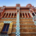 Außenansicht der Casa Vicens von Antoni Gaudì in Barcelona