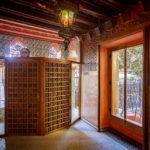 Innenansicht der Casa Vicens von Antoni Gaudì in Barcelona