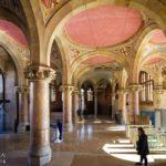 Innenansicht des Verwaltungsgebäudes im Hospital de Sant Pau von Lluís Domènech i Montaner in Barcelona