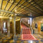 Innenansicht des Palau Güell von Antoni Gaudì in Barcelona