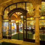 Foyer im Palau de la Música Catalana von Lluís Domènech i Montaner in Barcelona