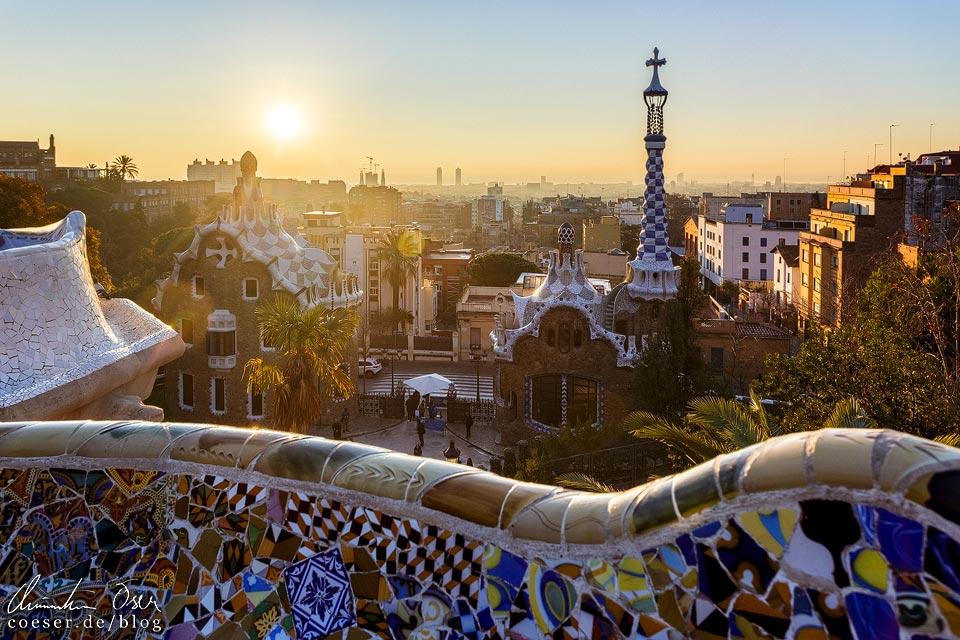 Sonnenaufgang Barcelona