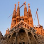 Außenansicht der Sagrada Família von Antoni Gaudì in Barcelona